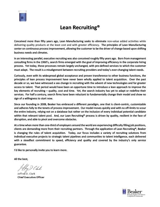 Lean-Recruiting