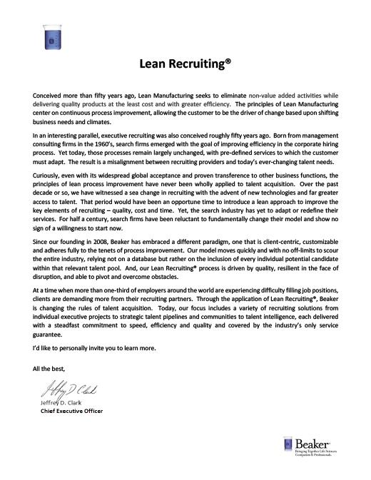 Lean-Recruiting